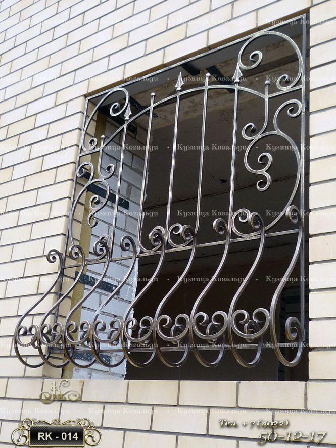 Решетка на окно. Ковка, цена 4500 за 1 м2