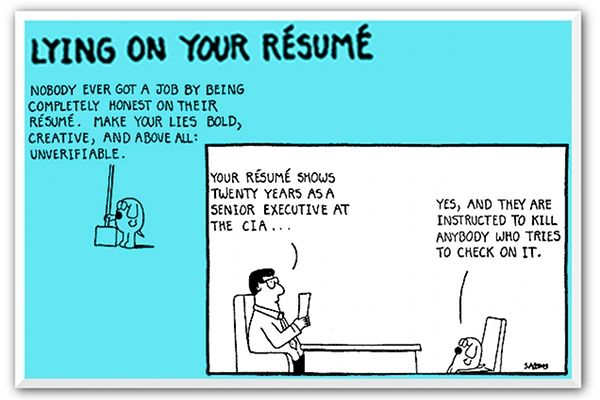 Study 92 Percent Of College Students Lie On Their Resumes Pr Daily Resume Student College Students