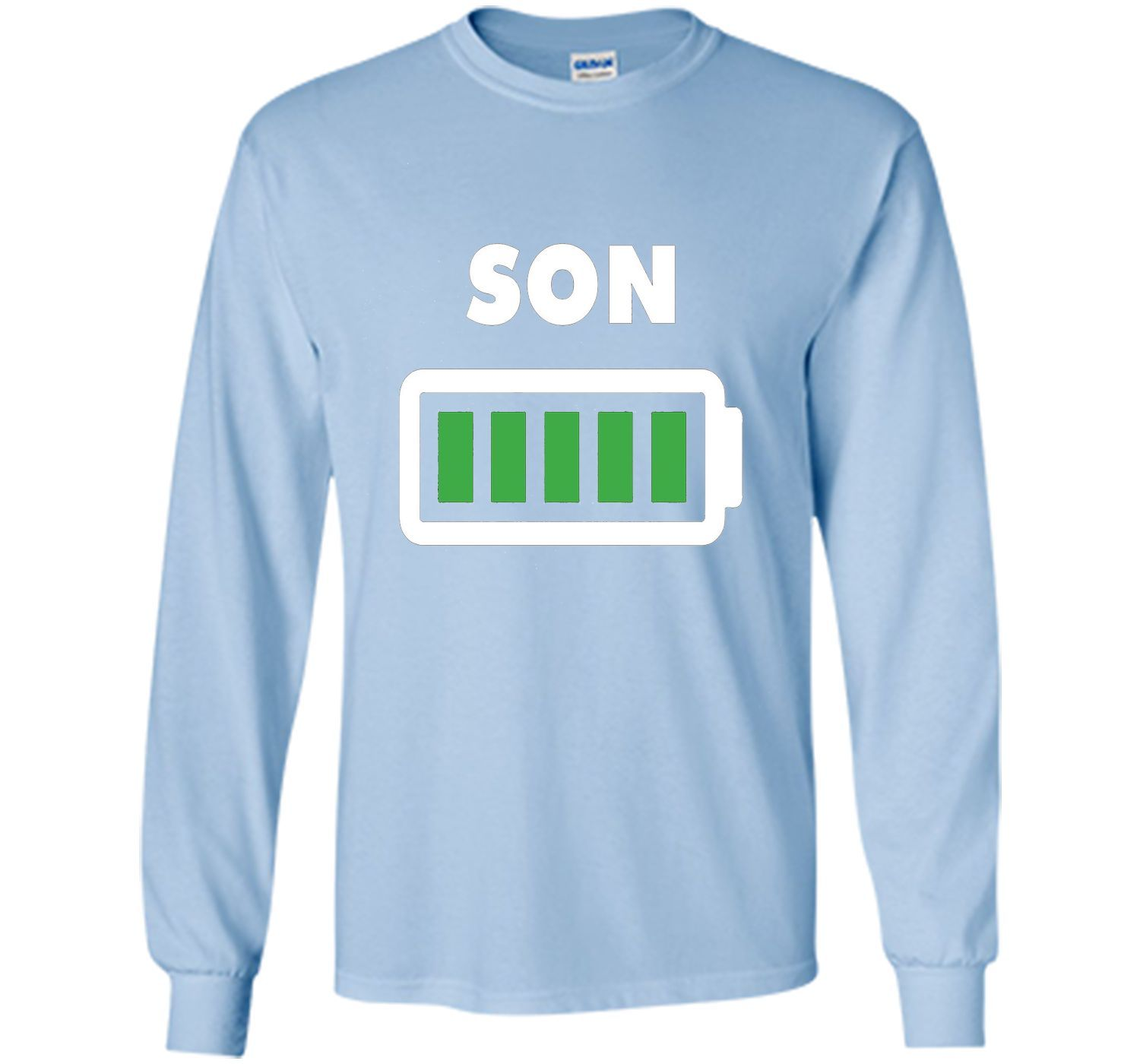 Son Full Battery shirt- Mom and Son matching outfits 2