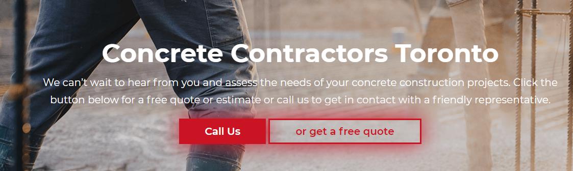 Concrete Contractors Toronto Concrete Installation