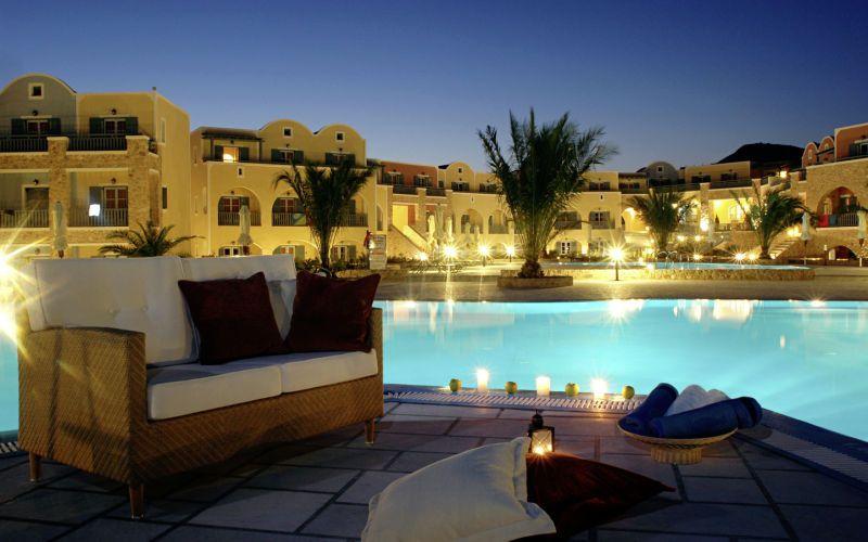 Santo Miramare Resort, Perivolos/Perissa, Greece