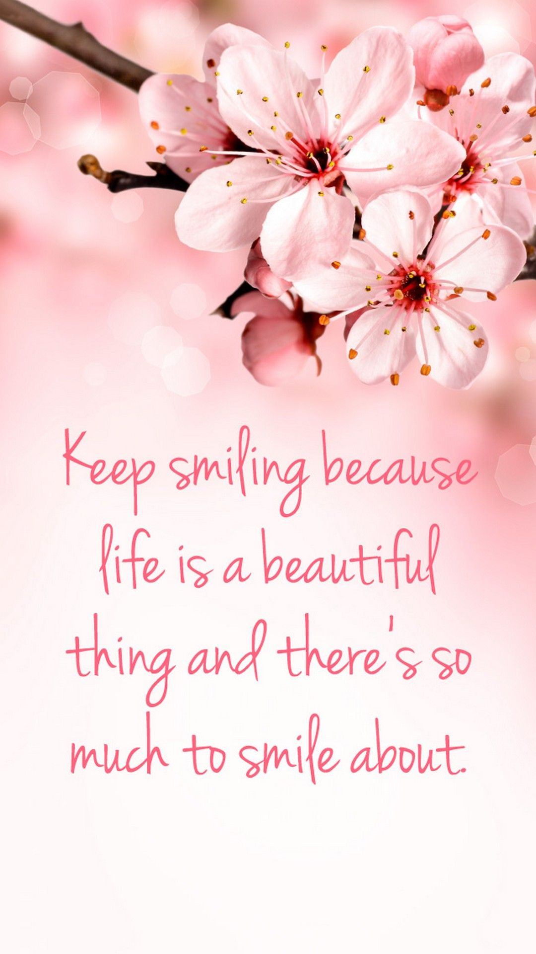 Quotes Pink Wallpaper For Mobile Wallpaper iphone quotes