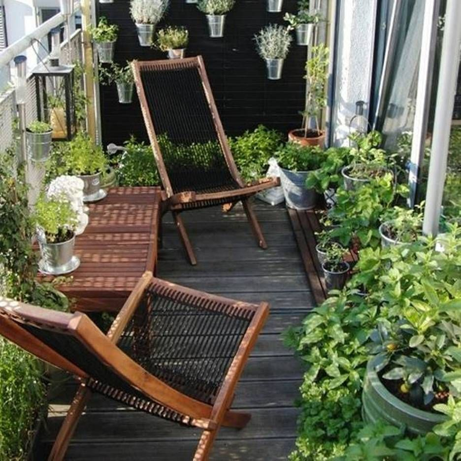 Home Design and Decor , House Balcony Designs : Small Garden Balcony Designs