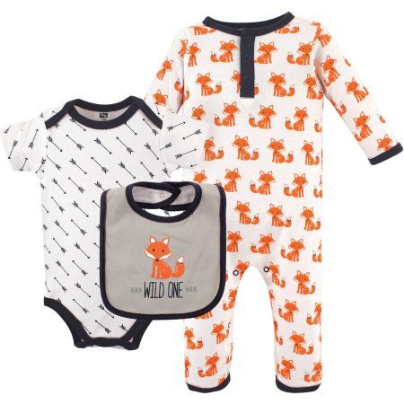 Woodland Fox Hudson Baby Girl Dress 2-Pack