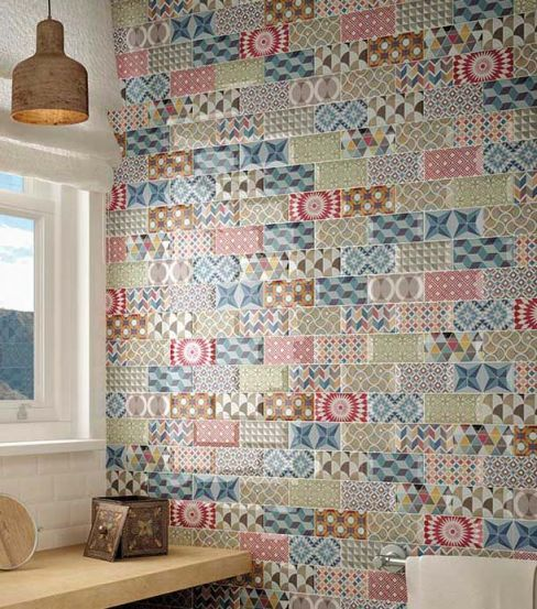 Kitchen Wall Tiles Patterned: Kitchen Wall Tiles - Our Pick Of The Best