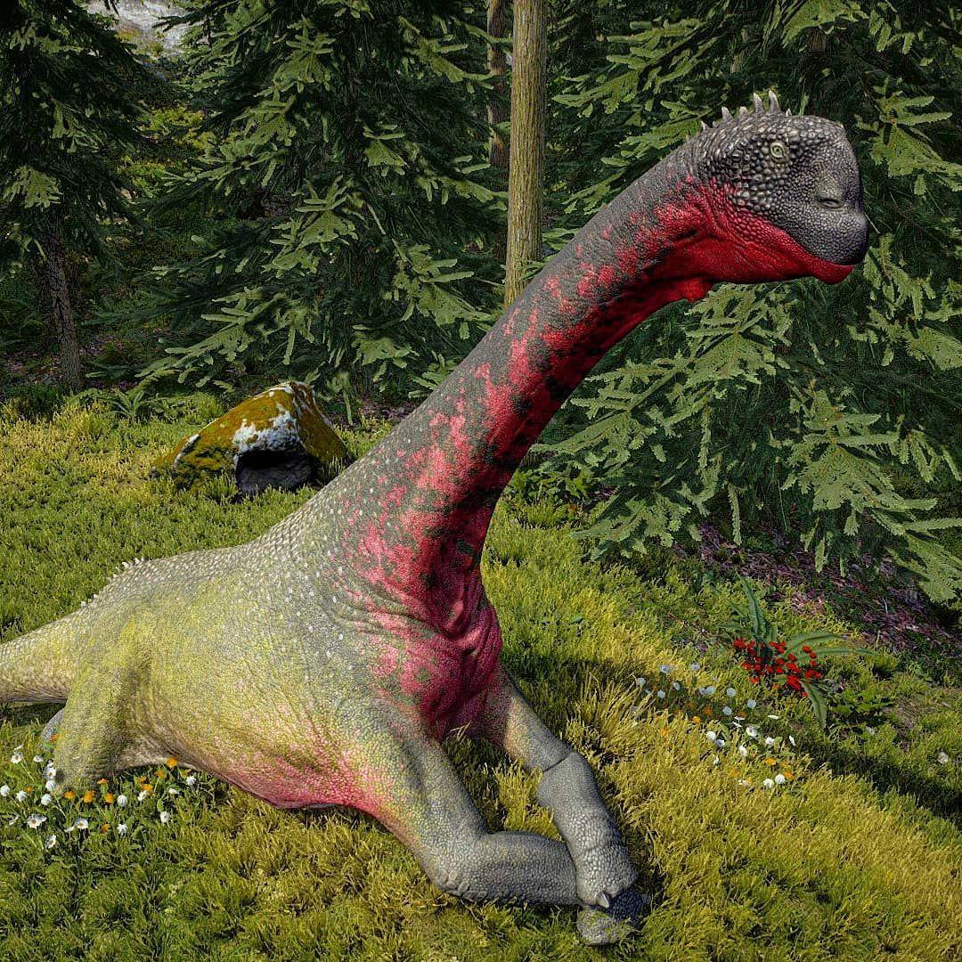 Dinosaur Instagram Mural One Size