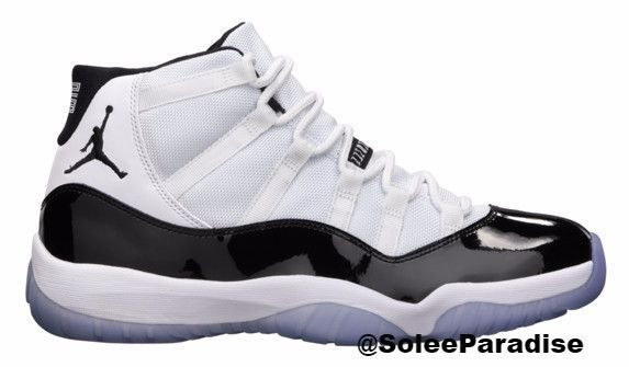2c3964979a3 The Air Jordan 11 (XI) Original (OG) – Concords (White   Black – Dark  Concord) were released in November