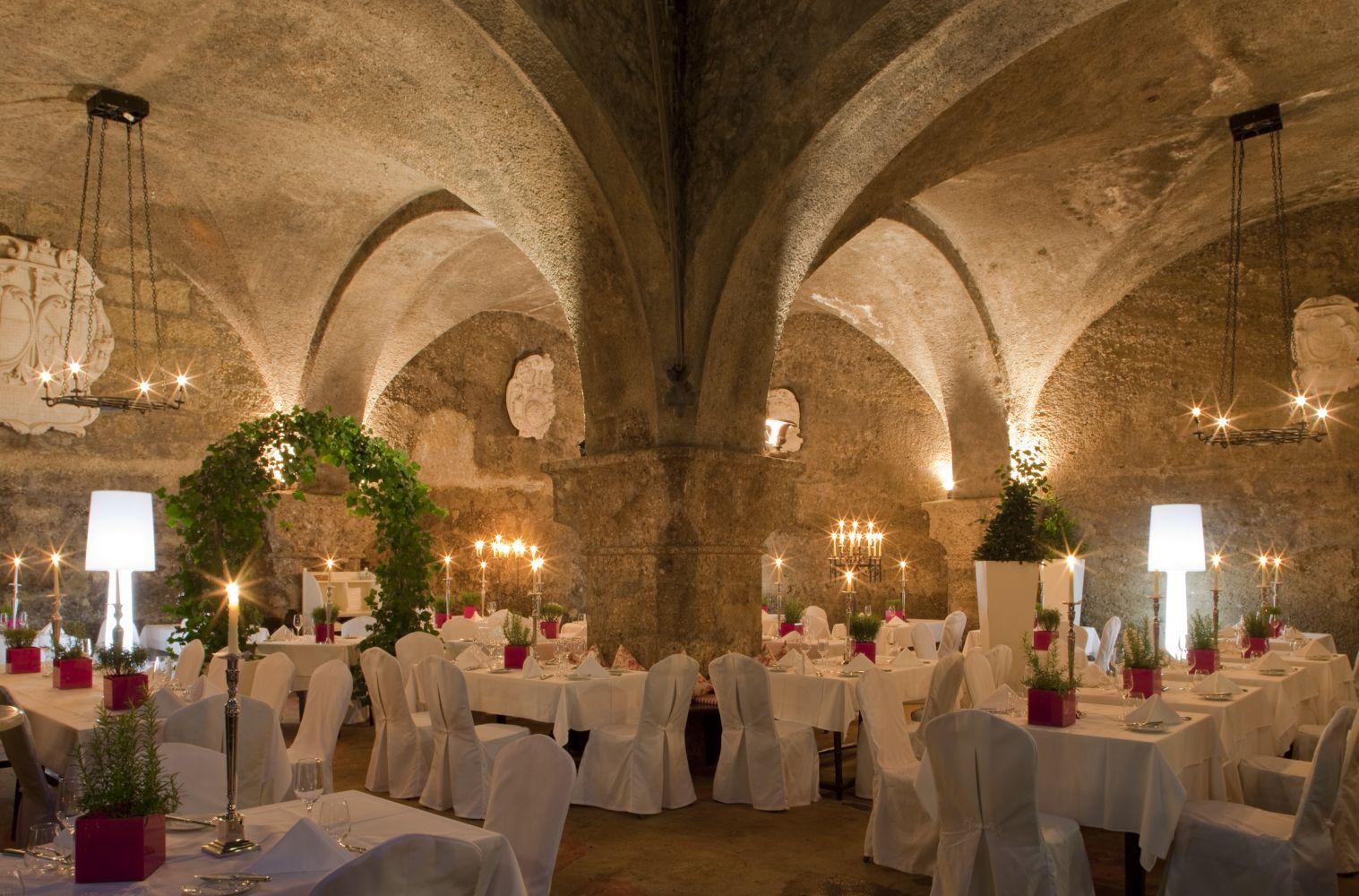Stiftskeller St. Peter, Innenhof Salzburg, Restaurant