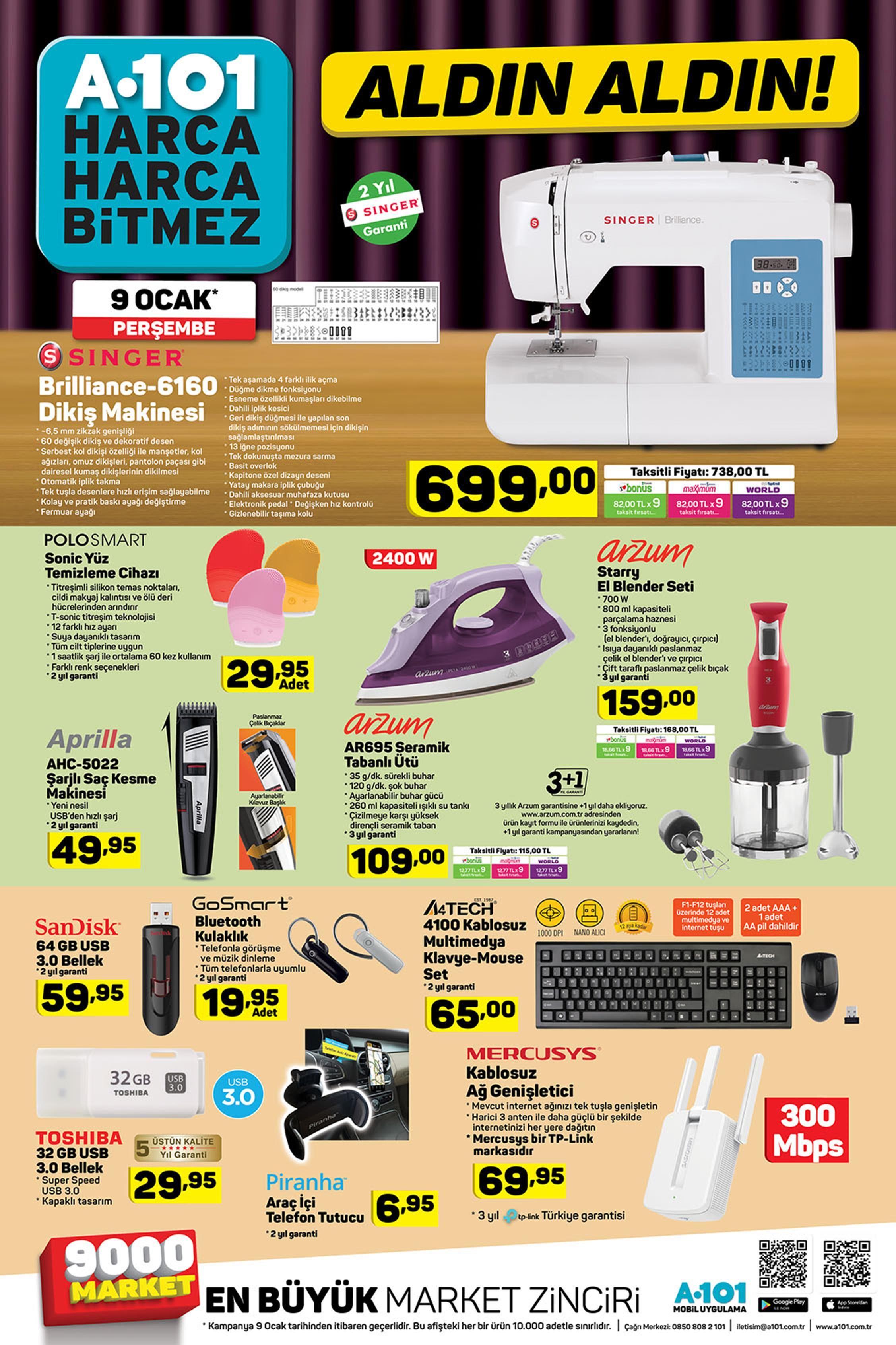 A101 Aktuel Urunler Gelecek A101 Katalogu In 2020 Singer Blender Shopping