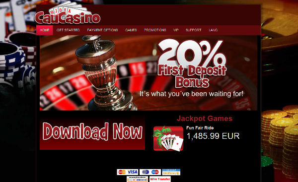Don't miss out!!! 1st deposit: 20% up to 100 gel >> jackpotcity.co/t/62.aspx