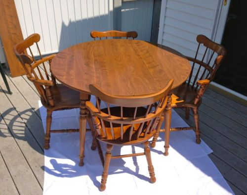 Maple Dining Antiques Us Maple Furniture Ethan Allen Furniture Wood Dining Table