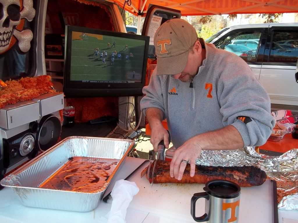 TV and tailgating