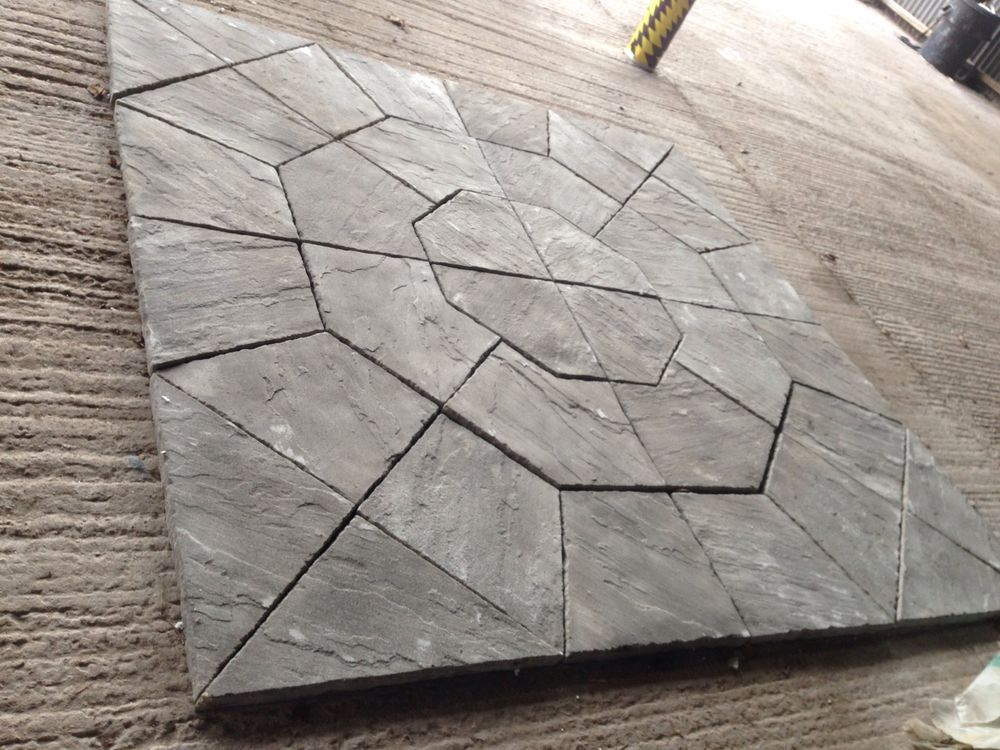 OCTAGON NOT CIRCLE PAVING PATIO SLABS BRADSTONE M MILLDALE - Concrete octagon patio pavers
