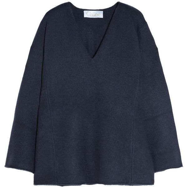 Chloé Iconic oversized cashmere sweater (21.245 ARS) ❤ liked on ...