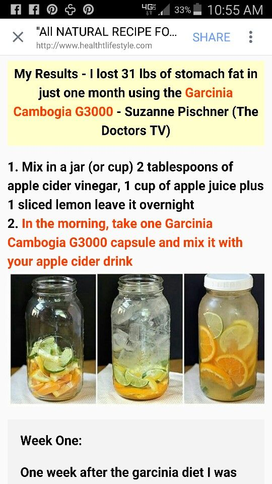 Garcia Cambodia G3000 Diet Apple Cider Vinegar Diet Recipe