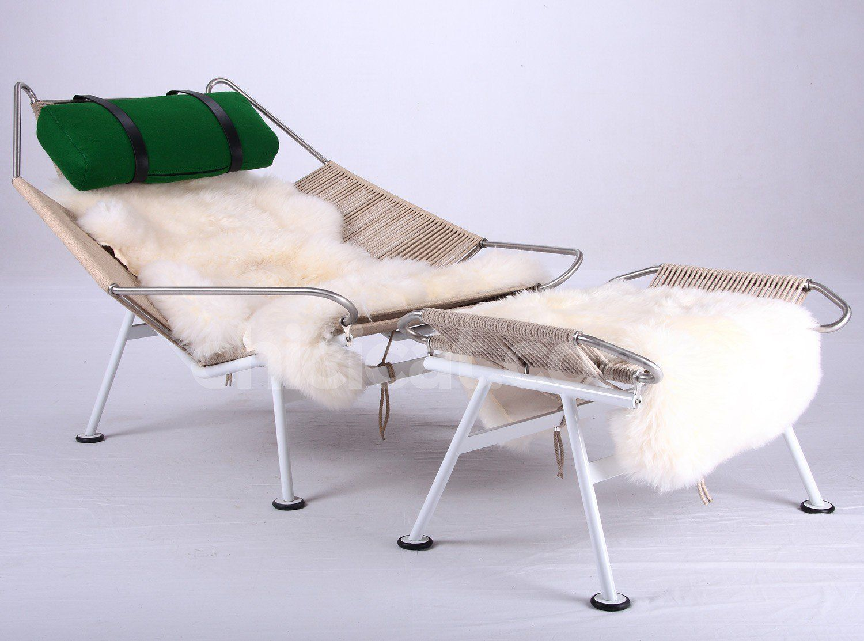 Flag Halyard Chair By Hans Wegner Collector Replica Wegner Replica Furniture Steel Detail