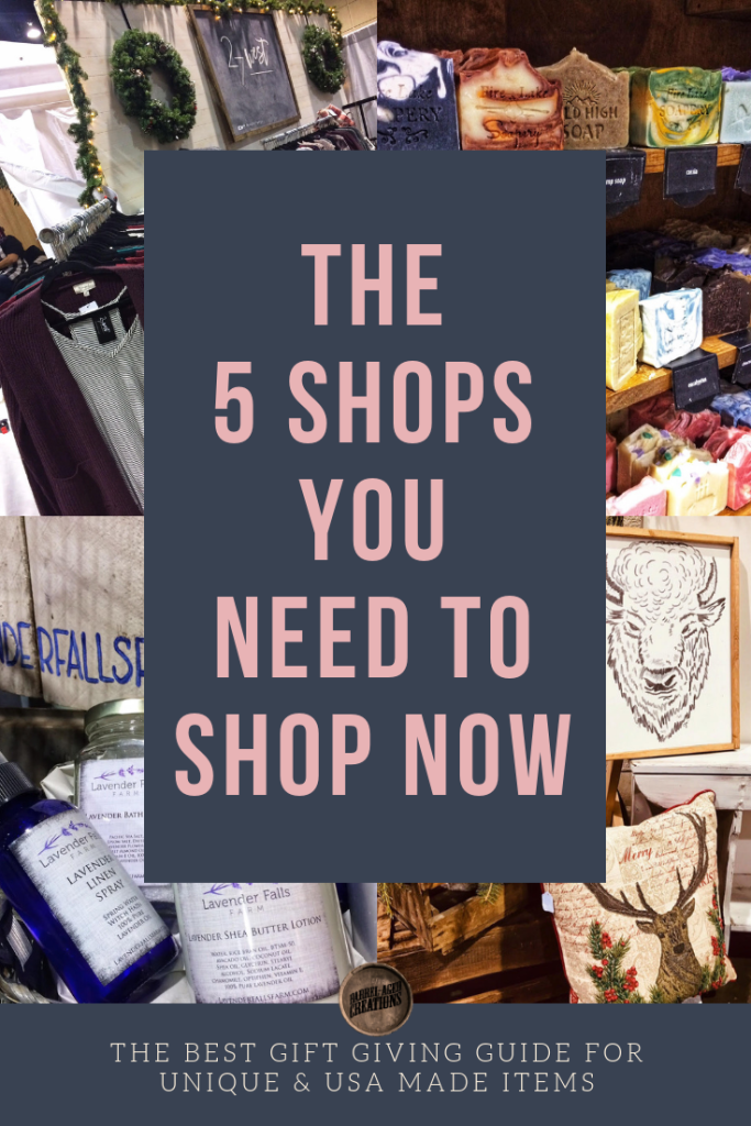 The Five Shops You Need To Shop Now Gift Guide Usa Made In Unique Gifts Women Owned Businesses Barrel Aged Creations For Her