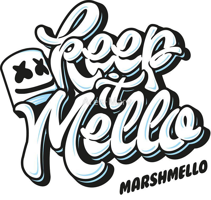 Keep It Mello Par Ares Marv Music Stickers Dj Art Dj Logo