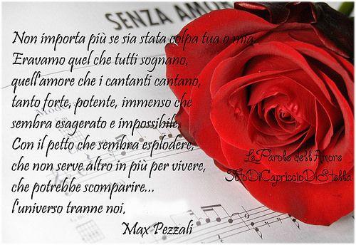 Ladra di Stelle - Le Parole dell'Amore - Max Pezzali