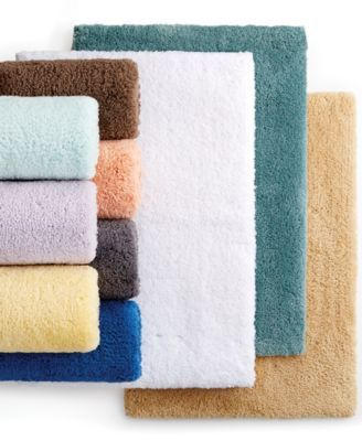 Martha Stewart Collection Ultimate Plush Rugs Only At Macy S Bath Rugs Bath Mats Bed Bath Macy S Plush Rug Bath Rugs Rugs