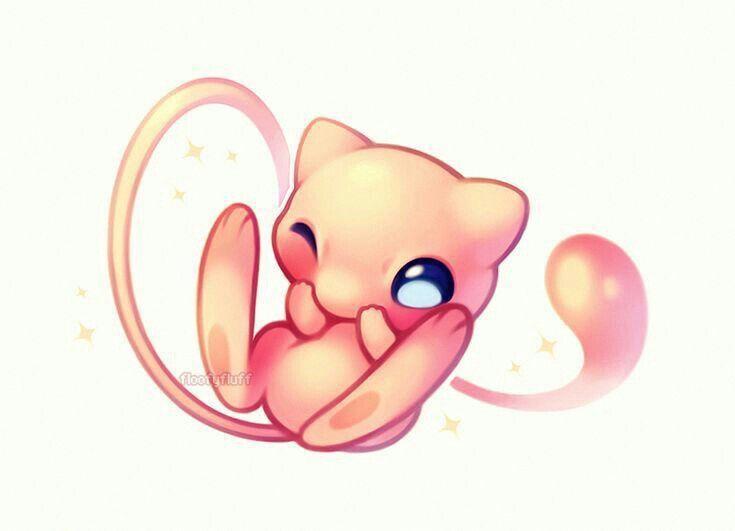 Chibi Mew Cute Pokemon Wallpaper Cute Pokemon Pictures Pokemon Drawings