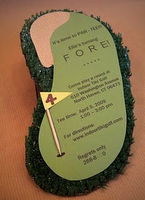 great 'golf' party invite
