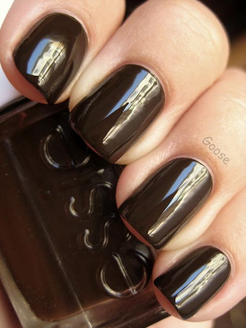 Essie — Little Brown Dress (Fall Collection | Fall 2010) | Brown ...