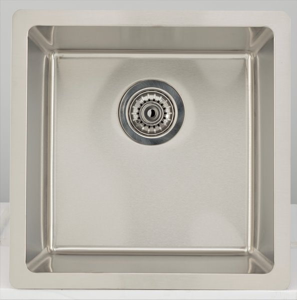 American Imaginations Single Sink 17 Stainless Steel Rona