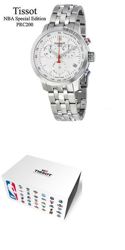 Mens 64518: Tissot T0554171101701 Prc 200 Nba Special Edition Mens Watch -> BUY IT NOW ONLY: $367.5 on eBay!