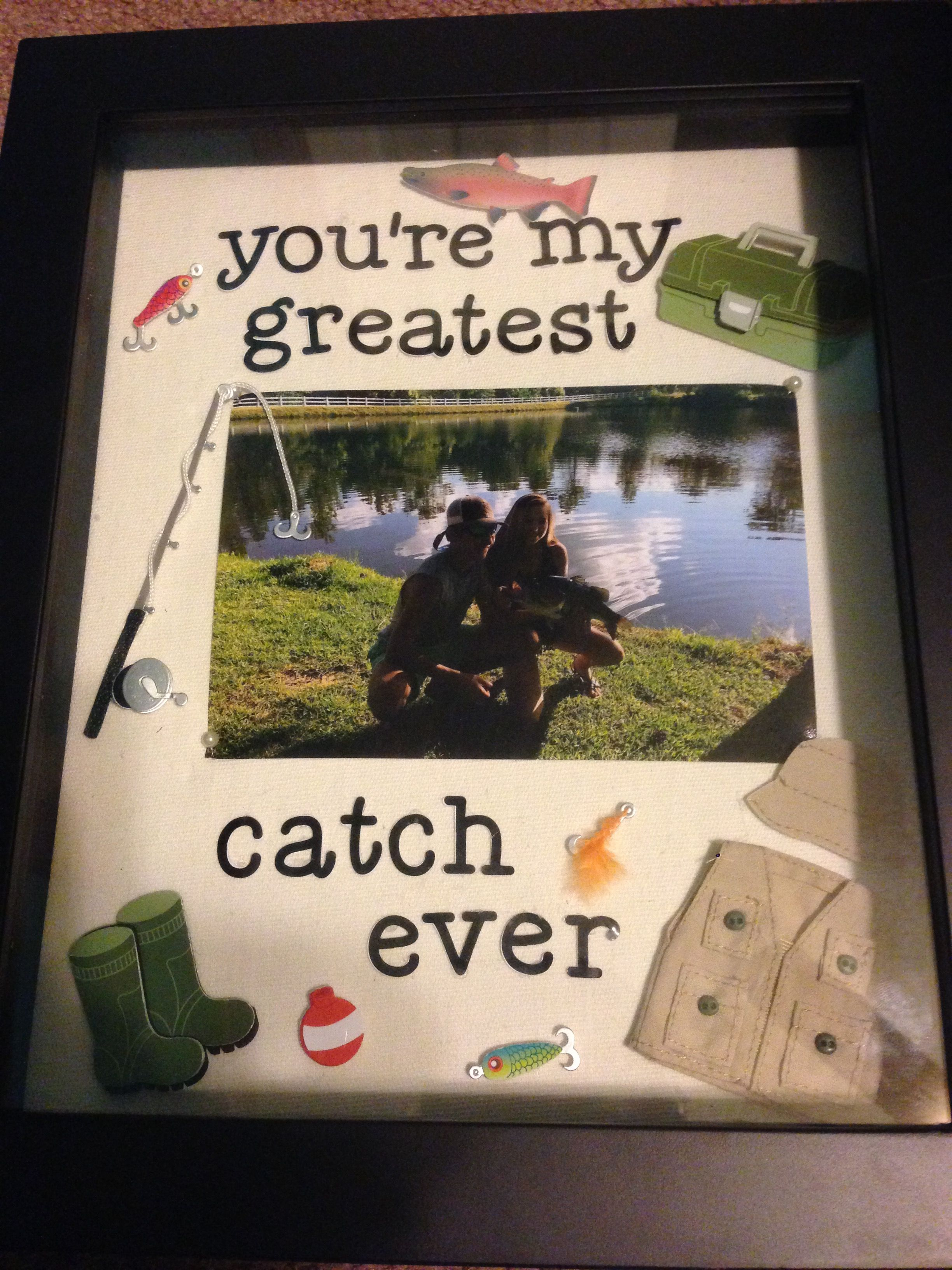 Your My Greatest Catch Ever Diy Boyfriend Gift Fishing