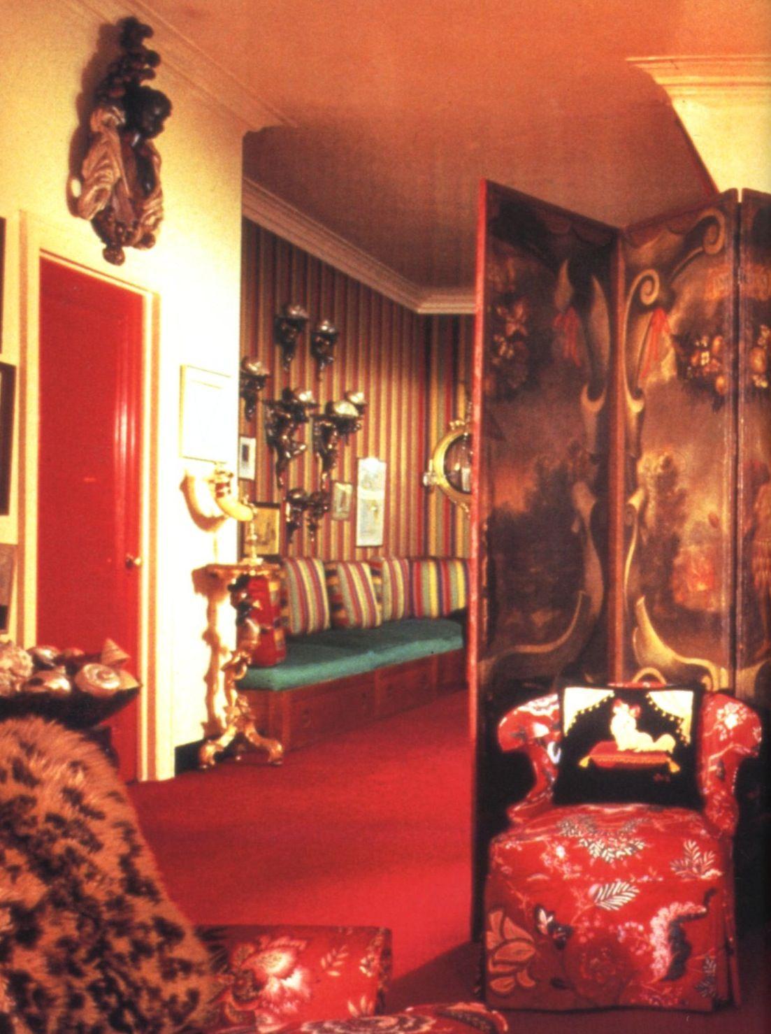DIANA VREELAND- THE EYE HAS TO TRAVEL. Billy Baldwin designer.