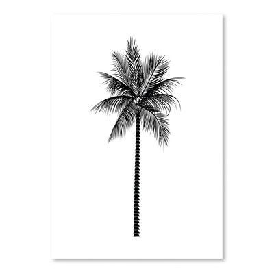 Americanflat Black Palm Poster Gallery by Jetty Printables Graphic Art