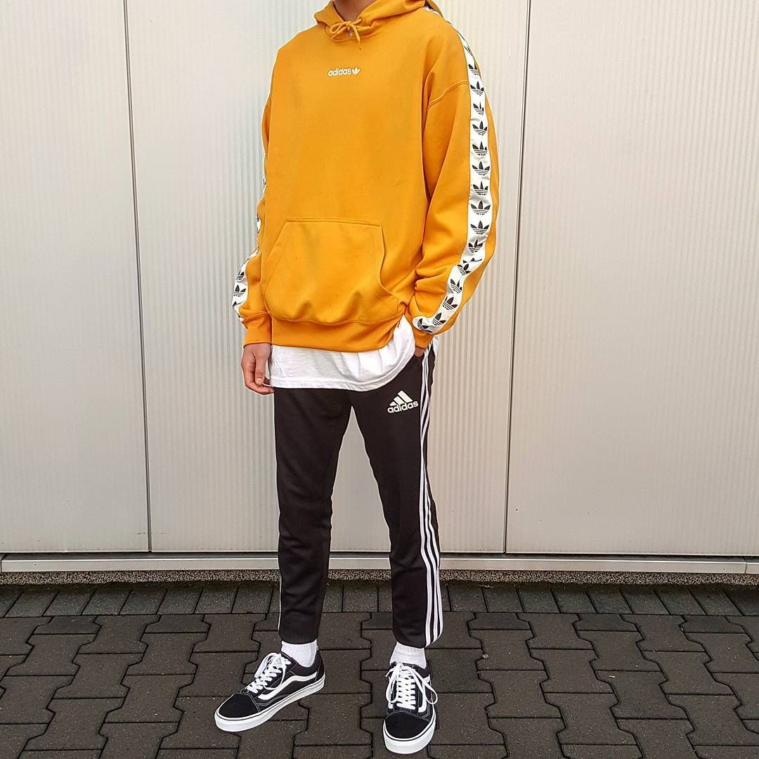 adidas sweats with vans