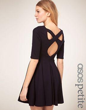 Enlarge Back Skater Dress