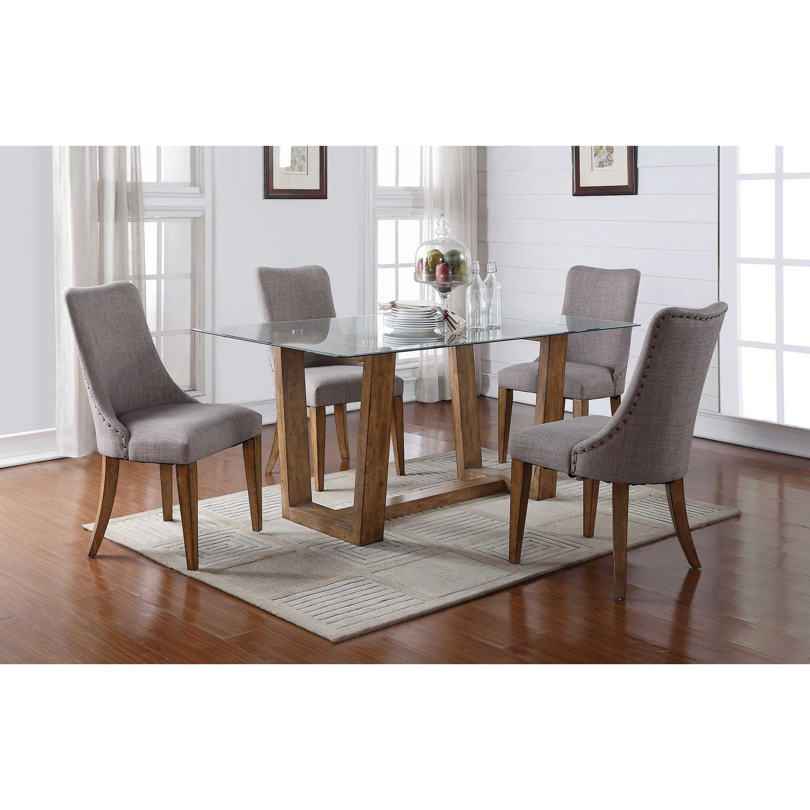 Winners Only Rectangular Glass Top Dining Table in 2019 ...