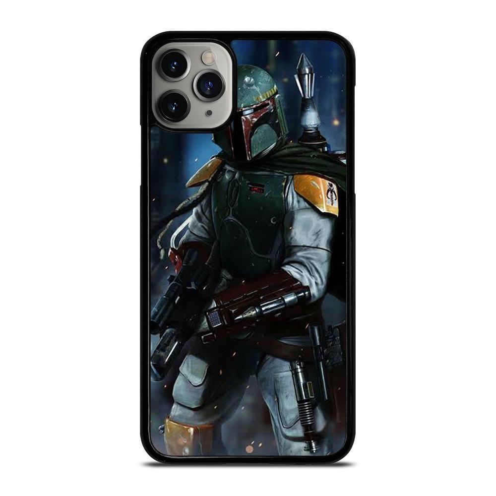 Boba fett star wars iphone 11 pro max case cover di 2020