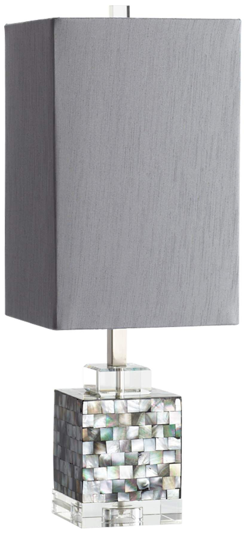 Johor Mother Of Pearl Table Lamp 2j895 Lamps Plus Vintage Table Lamp Grey Table Lamps Small Table Lamp