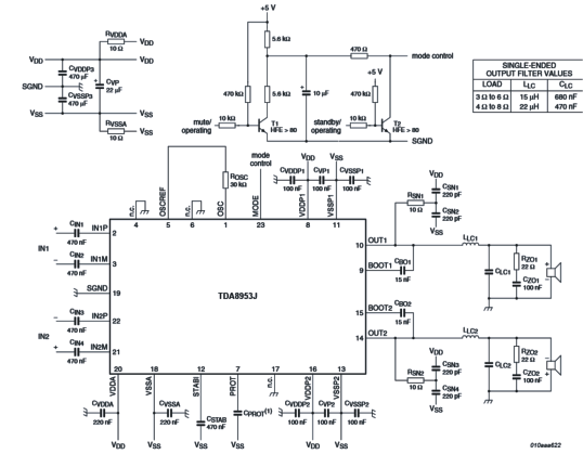 wireless home theater circuit using bluetooth headset circuit