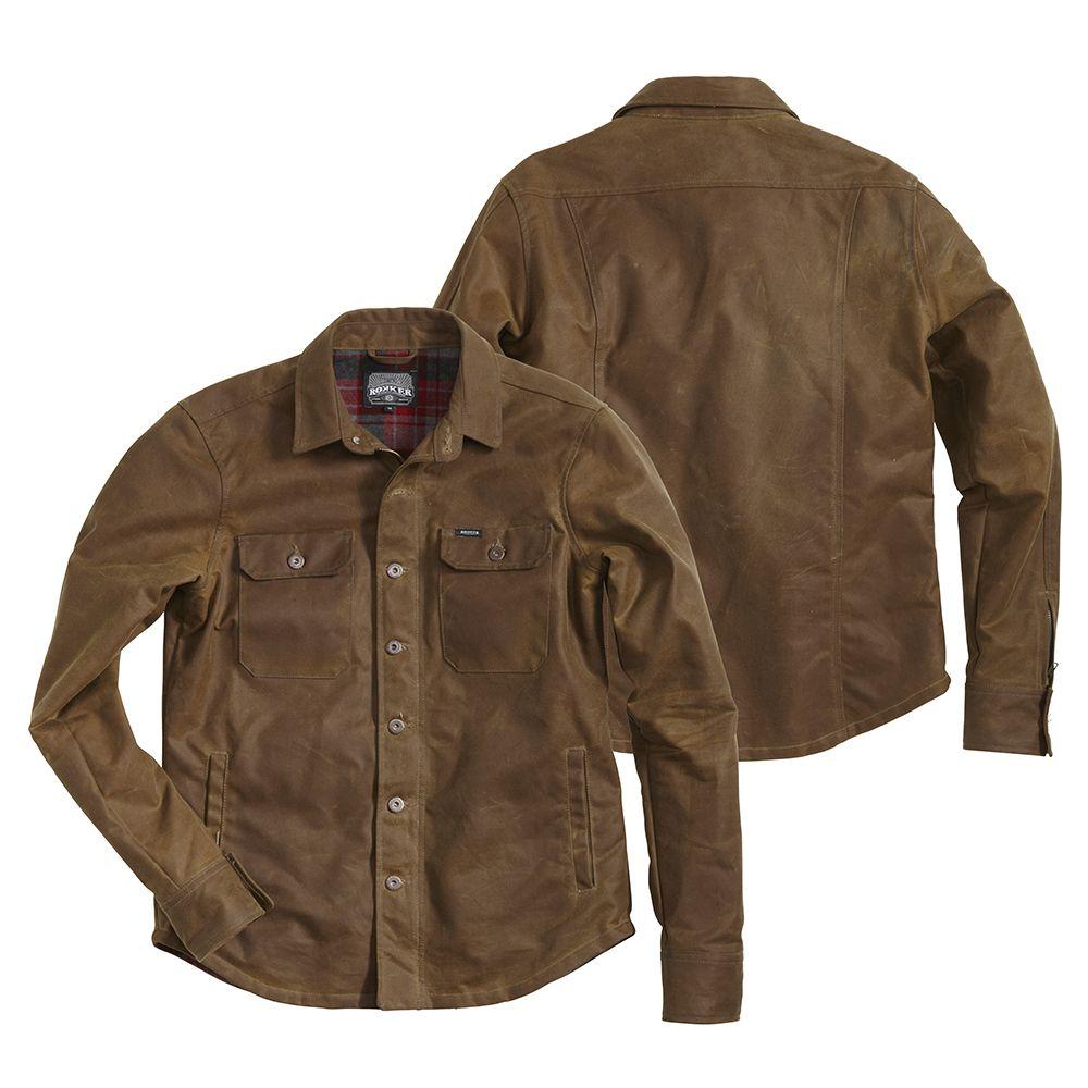 Jackets En Coton Chazster Sur Chemise Rugged Rokker Ciré wv10CTq