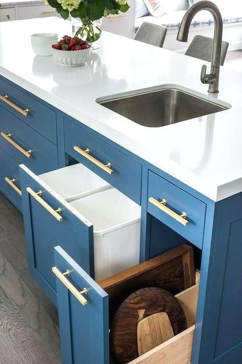 benjamin moore downpour blue cabinets - Google Search ...