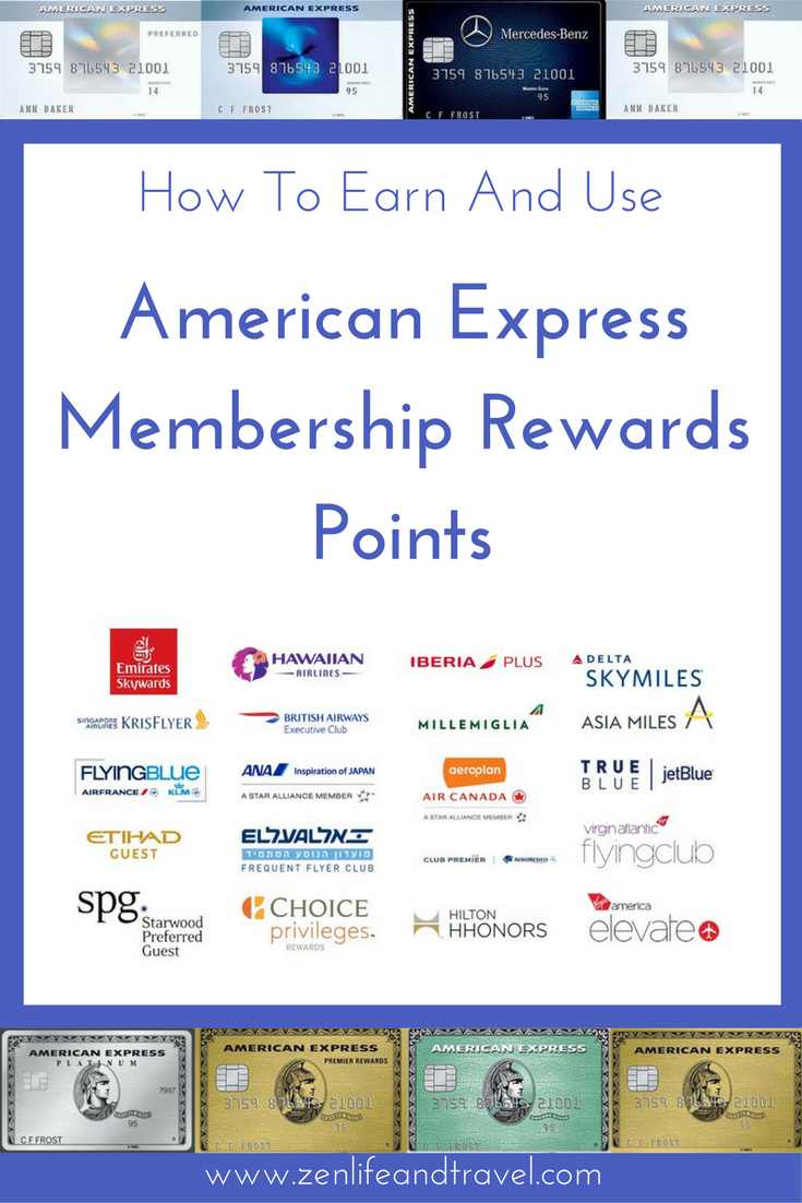Guide To Earning And Using American Express Membership Rewards Points Amex Credit Card Travel Hacking Tips Creditcardpoints