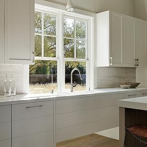 Andrew Mann Architecture Kitchens White Shaker Cabinets
