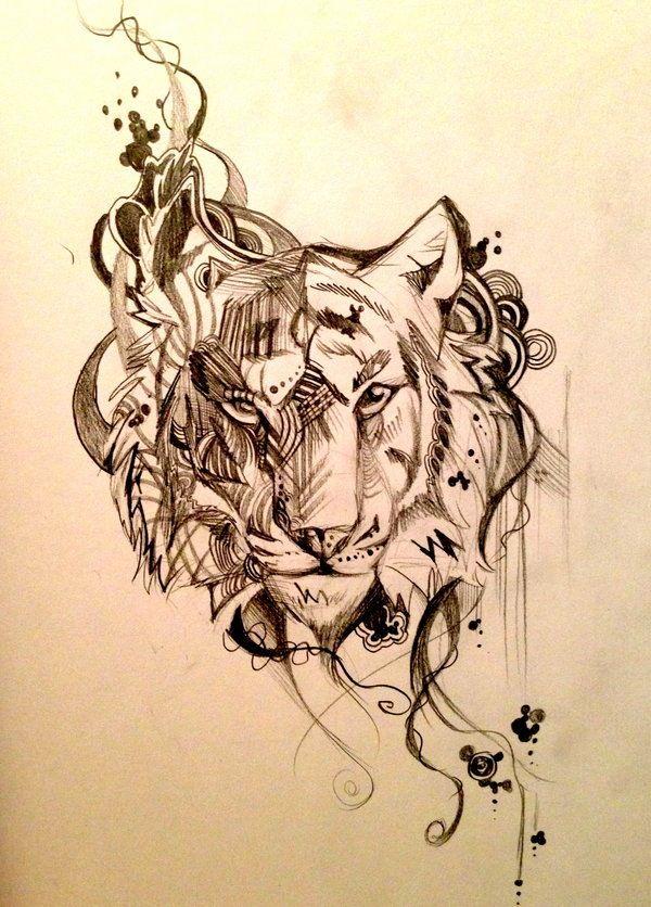 Tiger Drawing | Drawing | Pinterest