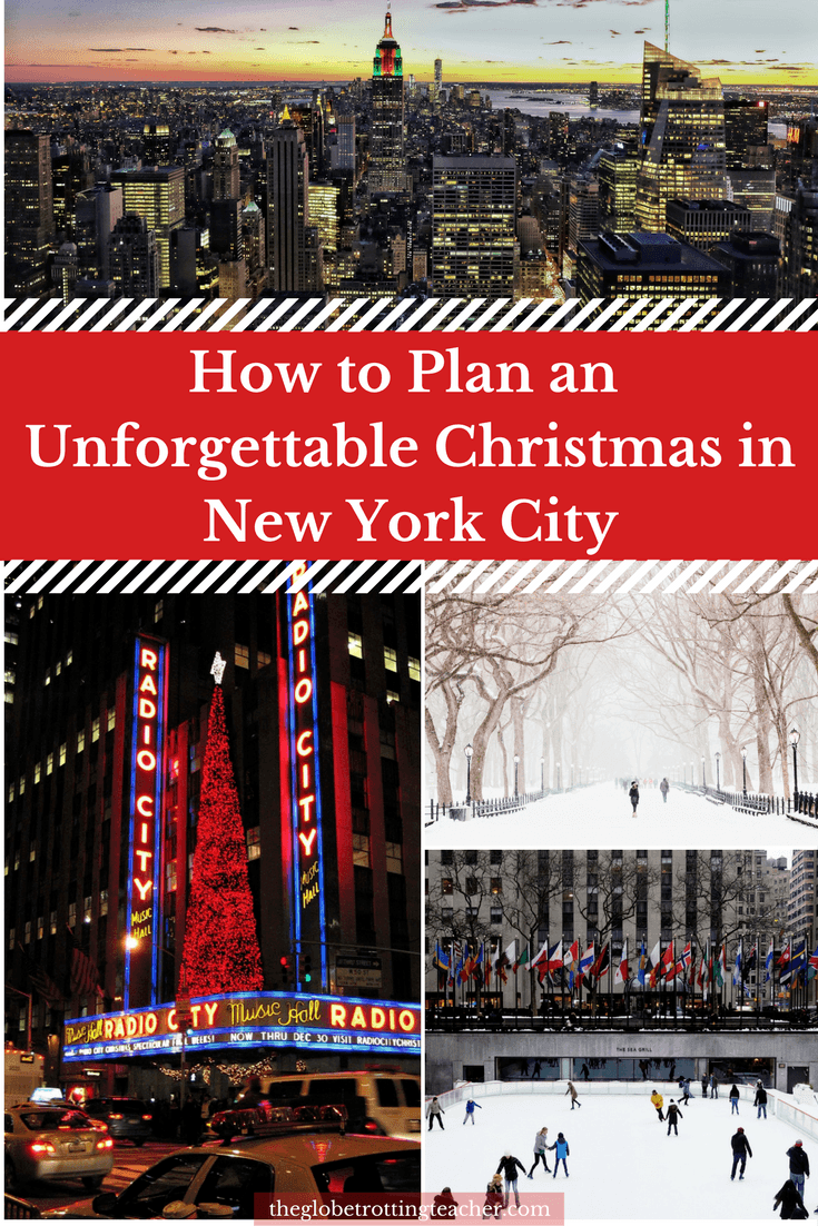 Ultimate Cheat Sheet for your Christmas in New York City written by A Local!! Everything you need to know before visiting NYC during the holidays. Super helpful tips for anyone thinking of spending the holidays in NYC! l #Christmas #newyork #NYC #travel