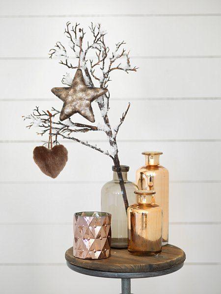 JUL Alternativt juletre i vase Foto: Kid Interiør