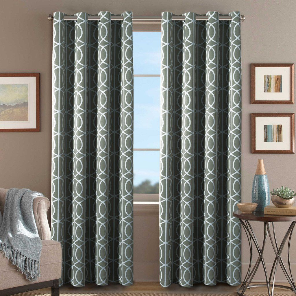 Best d scenery blackout curtains online grey curtains room