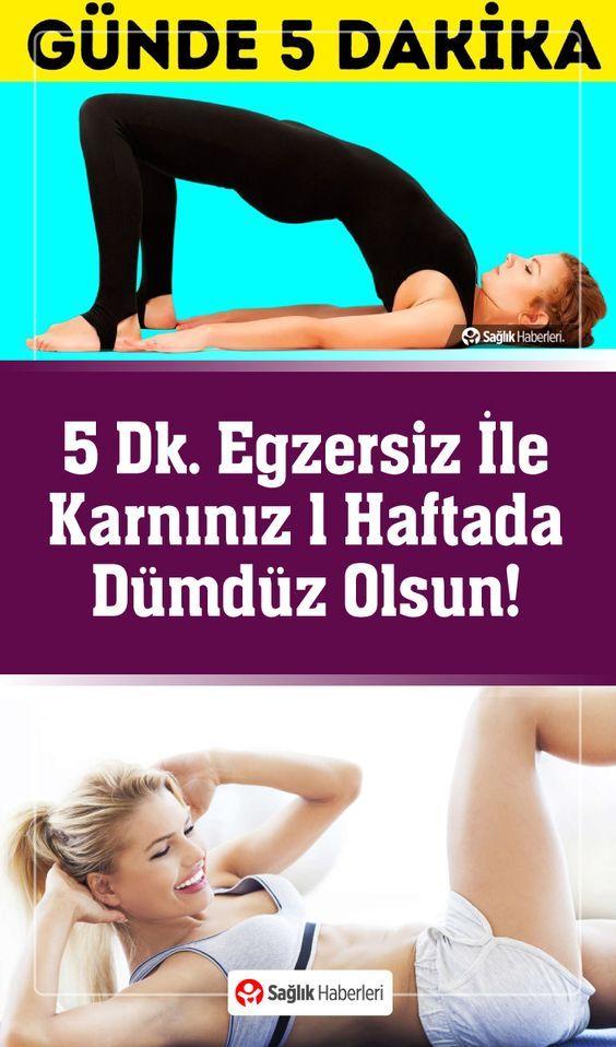 5 Dakikalık Egzersizle Karnınız Yalnızca 7 Günde Dümdüz Olsun!