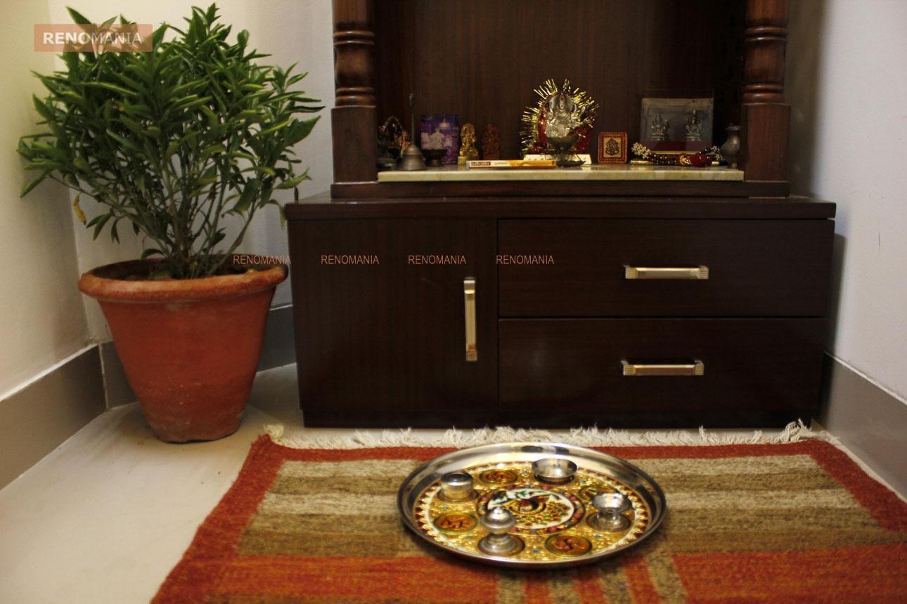 Minimalist Wooden Mandir   Pooja Room Designs   Pinterest ...