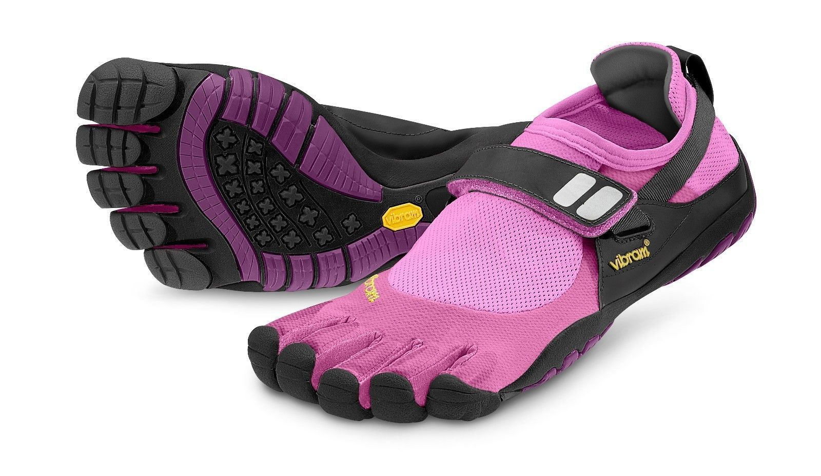 promo code e42e0 0947d Vibram Fivefingers Treksport Womens Trek Five Fingers Running Hiking Shoes  Pink