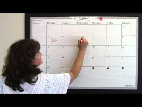 Back to School family calendar organization. Quick video tip.  http://www.facebook.com/cluborganomics  http://www.twitter.com/smeadorganomics  http://www.youtube.com/smeadorganomics  http://Gplus.to/Smead  http://www.pinterest.com/smeadorganomics